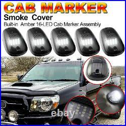 For Dodge RAM 1500 2500 3500 Rooftop Cab Running Light LED 6000K Smoked Lens Kit