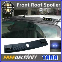 Front Roof Spoiler Cover LED Light For Toyota Hilux M70 M80 SR5 2015-Onwards