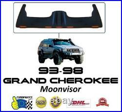 Jeep Grand Cherokee ZJ 1993-1998 Fiberglass Moonvisor with LED Lighting