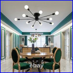 Kitchen Lamp Black Pendant Light Bar Chandelier Lighting Bedroom Ceiling Lights