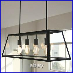 Kitchen Pendant Light Bar Ceiling Lights Glass Lamp Large Chandelier Lighting
