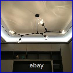 Kitchen Pendant Light Bedroom Lamp Home Ceiling Lights Black Chandelier Lighting