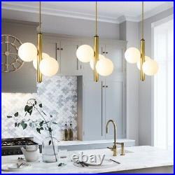 Kitchen Pendant Light Glass Lamp Gold Chandelier Lighting Bedroom Ceiling Lights