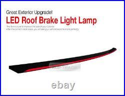 LED Rear Roof Brake Light Lamp Glass Wing Lip Spoiler for BMW 10-16 5 Series F10