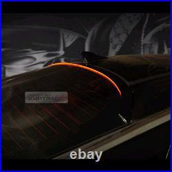LED Rear Roof Brake Light Lamp Glass Wing Lip Spoiler for KIA 2011-2015 Optima