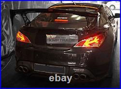 LED Roof Brake Light Lamp Glass Wing Lip Spoiler for HYUNDAI 09-12 Genesis Coupe
