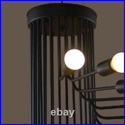 Large Chandelier Lighting Bar Pendant Light Kitchen Lamp Black Ceiling Lights