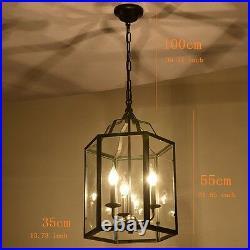 Large Chandelier Lighting Black Pendant Light Bar Ceiling Lights Kitchen Lamp