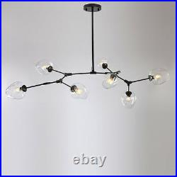Large Chandelier Lighting Black Pendant Light Kitchen Lamp Office Ceiling Lights