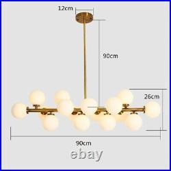 Large Chandelier Lighting Glass Pendant Light Kitchen Lamp Bedroom Ceiling Light