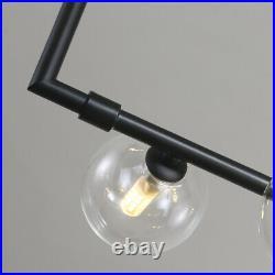 Large Chandelier Lighting Kitchen Lamp Black Pendant Light Office Ceiling Lights