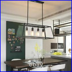 Large Pendant Light Kitchen Chandelier Lighting Glass Dining Room Ceiling Lights