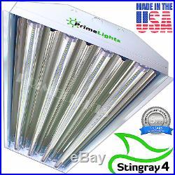 Linkable 4FT LED Shop Light 5000K Super Bright Utility Ceiling Fixture USA MADE