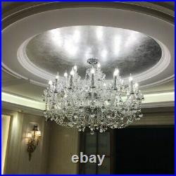 Modern Crystal Chandelier Pendant Lamp Lobby Ceiling Lighting Fixtures LED Light