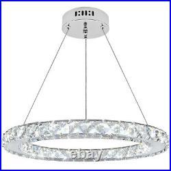 Modern Round LED Ring Pendant Ceiling Light Home Diner Hotel Chandelier M0170