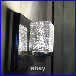 Modern Wall Light Crystal Bubble Tower Chandelier Lamp Ceiling Lighting 3W LED