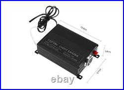New Car LED Ceiling Light Fiber Optic Star Kit RGBW Lamp Source+300x Fiber Cable