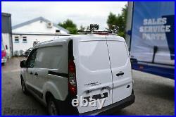 Rear Roof Beacon Light Bar + LEDs For Ford Transit Tourneo Custom 13 18 Chrome