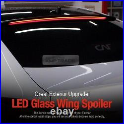 Rear Roof LED Glass Wing Spoiler Light Long Type for HYUNDAI 2017-19 Elantra AD