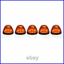 Recon Amber Lens Amber LED Cab Light Kit For 1999-2016 Ford Super Duty 264143AM