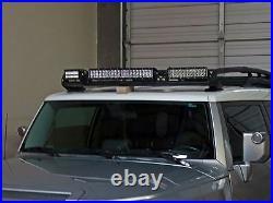 Rigid Industries Roof Rack Mount for 2 10 + 1 20 LED Light Bar Fits FJ Cruiser