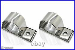 Roof Bar + Clamps + White LEDs For Ford Transit MK8 2014+ Steel Lamps Light Bar