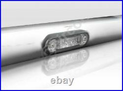 Roof Bar + LEDs For Ford Transit MK7 07 -14 Stainless Steel Spot Lamp Light Bar
