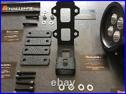 Suzuki Jimny Spots light mounting brackets mounts bolt on no drilling led bar