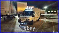 To Fit 00 06 Ford Transit MK6 Front Medium High Roof Light Van Bar with LEDs