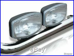 To Fit 07 14 Ford Transit MK7 Front Medium High Roof Light Van Bar with LEDs