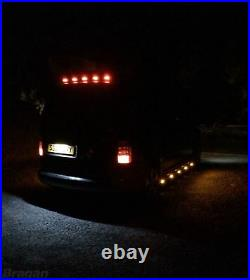 To Fit 2001 2011 Opel Vauxhall Combo C Rear Roof Top Light Bar + LEDs