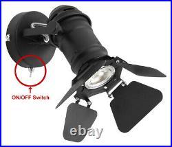 Vintage Adjustable Camera Lens Style Single Studio Spot Ceiling Wall Light M0098