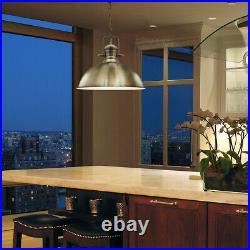Vintage Antique Brass Shade Ceiling Chandelier Hanging Pendant Retro Light M0127