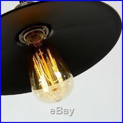 Vintage Pendant Light Kitchen Ceiling Lights Bar Lamp Large Chandelier Lighting
